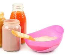 Alimentation pour nourrissons
