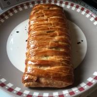 Feuilleté crousti moelleux poireaux saumon