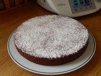 Gâteau au chocolat aux blanncs d'oeufs