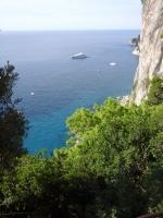 vue sur la mer à Capri
