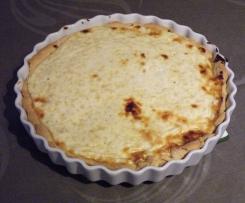 Goyère ou tarte avec du maroilles