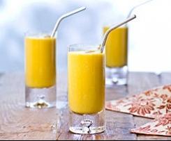 Smoothie à la mangue ou lassi à la mangue (spécialité indienne)