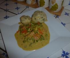 Boulettes aux merlans et aux légumes