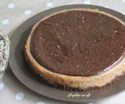 Cheesecake au nutella et pralin