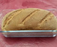 Pain semi-complet en moule à cake