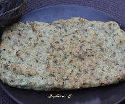 Quiche sans pâte au chou-fleur et parmesan