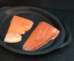 Filet de saumon à la sauce citronnée