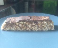 Barres de céréales, énergétiques et bénéfiques: Fruits, flocons d'avoine et chocolat -Sans Cuisson