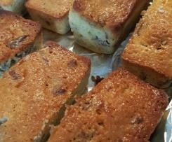 Cake noix de pécan sirop d'érable