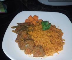 Riz africain aux légumes