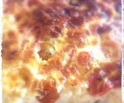 Clafoutis aux tomates cerise et brebis basque