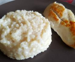 Variante Risotto au parmesan