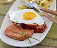 Leberkäse ou pain à la viande (spécialité Bavaroise)