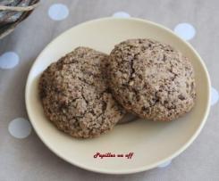 Amarettis choco-noisetttes (cadeau gourmand, étiquette à imprimer)