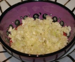 Salade de chou blanc à la japonaise