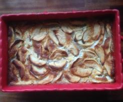 Clafoutis aux pommes de ma Mamie