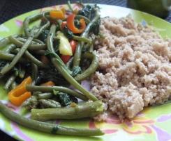 Couscous léger aux légumes d''été (recette à indice glycémique bas)