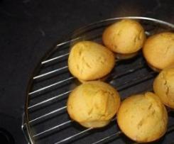 Muffins sucrés au potiron et noix