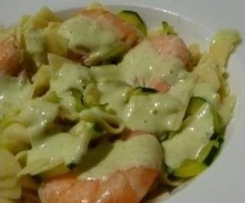 Gambas sauce courgettes TM5