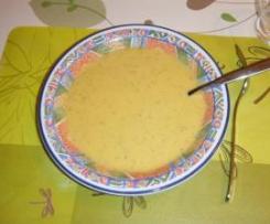 Soupe de légumes variés (courgettes, céléri boule, carottes et pommes de terre)