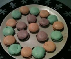 Macarons tout au thermomix Variantes Chocolats