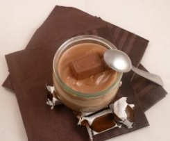 creme dessert aux bonbons au chocolat IK**