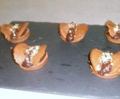Papillons au chocolat