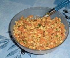 panais et carottes en crudités