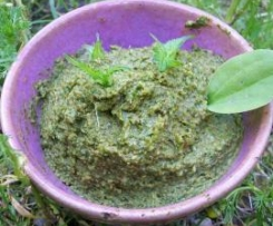 pesto ortie/plantain