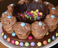 surprise au chocolat anniversaire des enfants