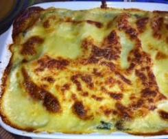 Lasagnes saumon épinard (variante)