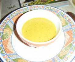 Soupe aux 4 légumes (potimarron, poireaux, carottes et courgettes)